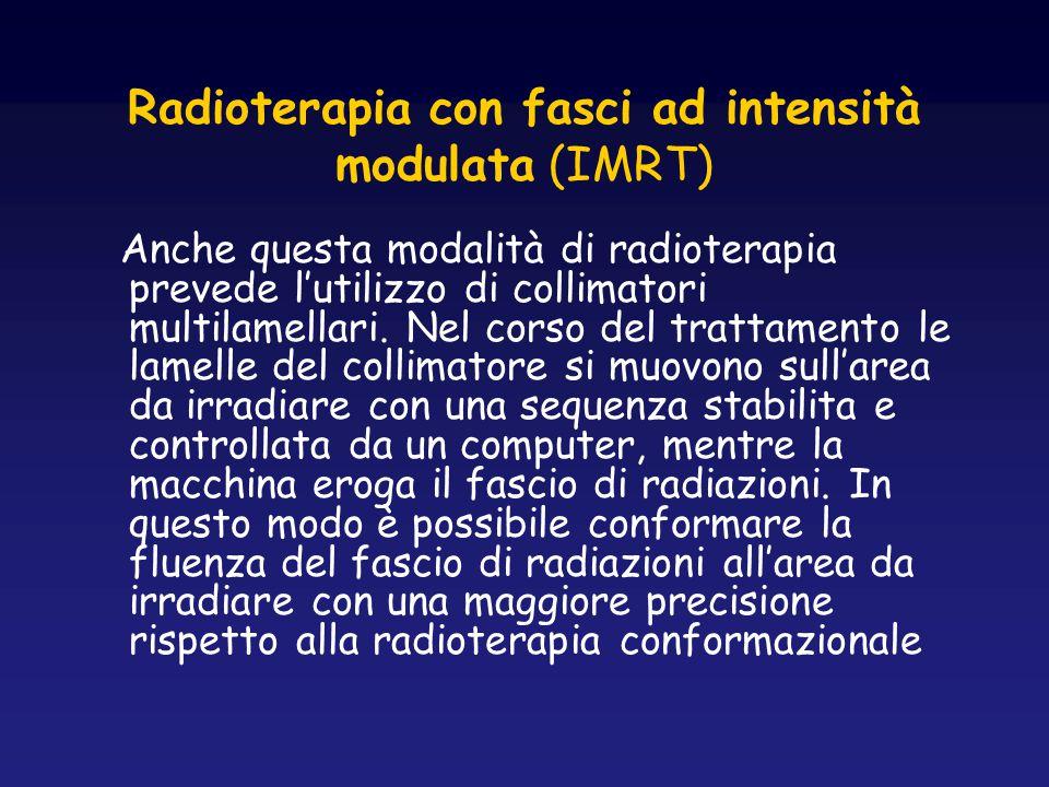 Radioterapia con fasci ad intensità modulata (IMRT)