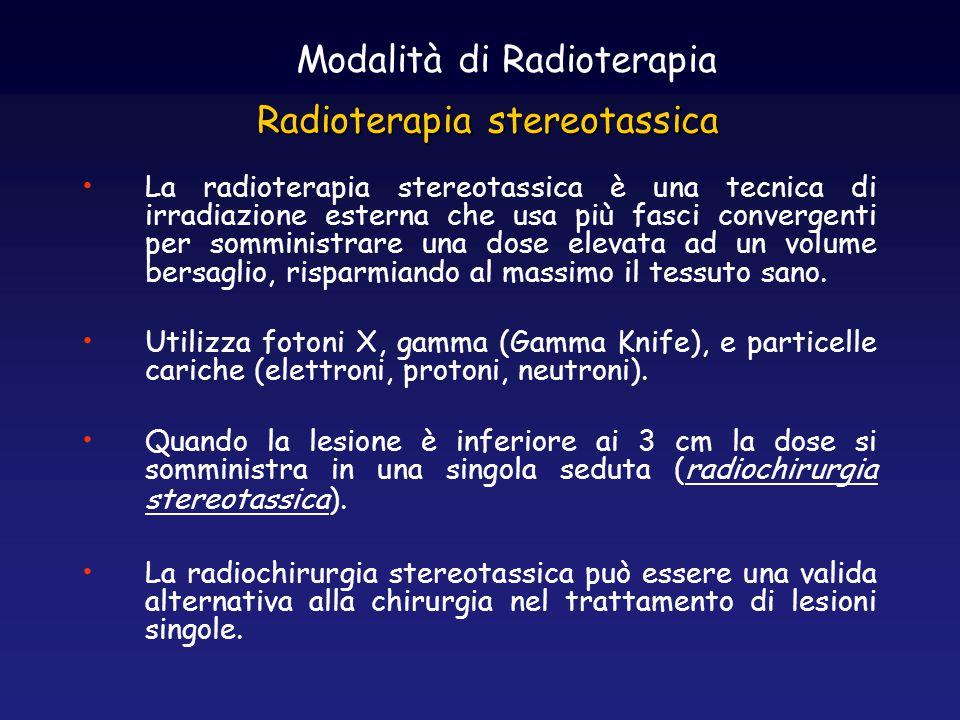 Radioterapia stereotassica