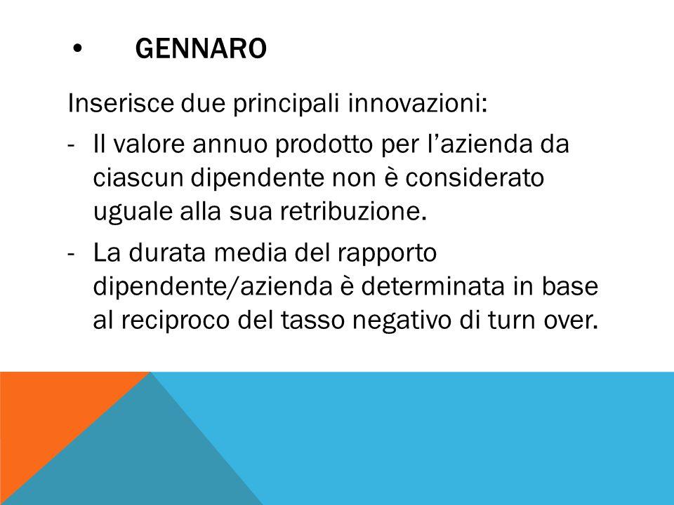 • Gennaro
