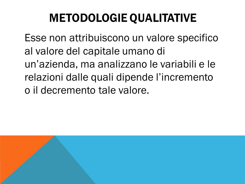 Metodologie qualitative