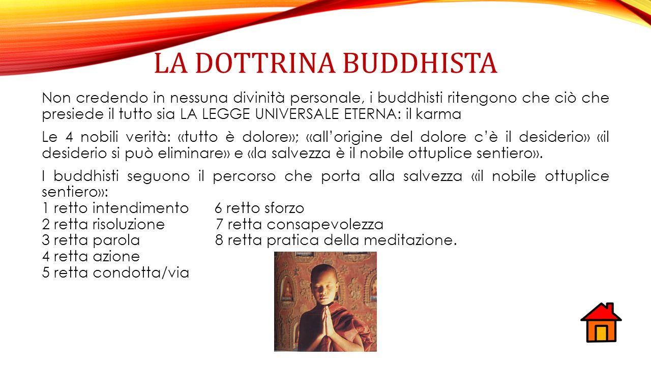 La dottrina buddhista