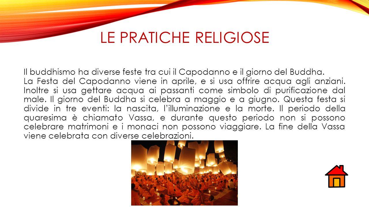 Le pratiche religiose