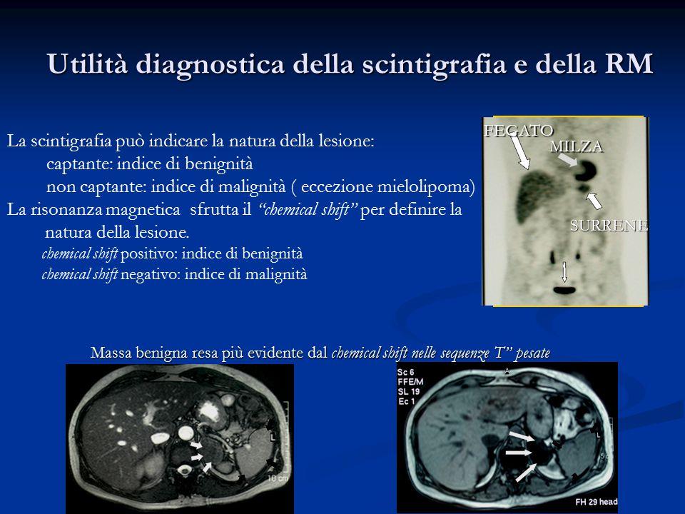 Utilità diagnostica della scintigrafia e della RM