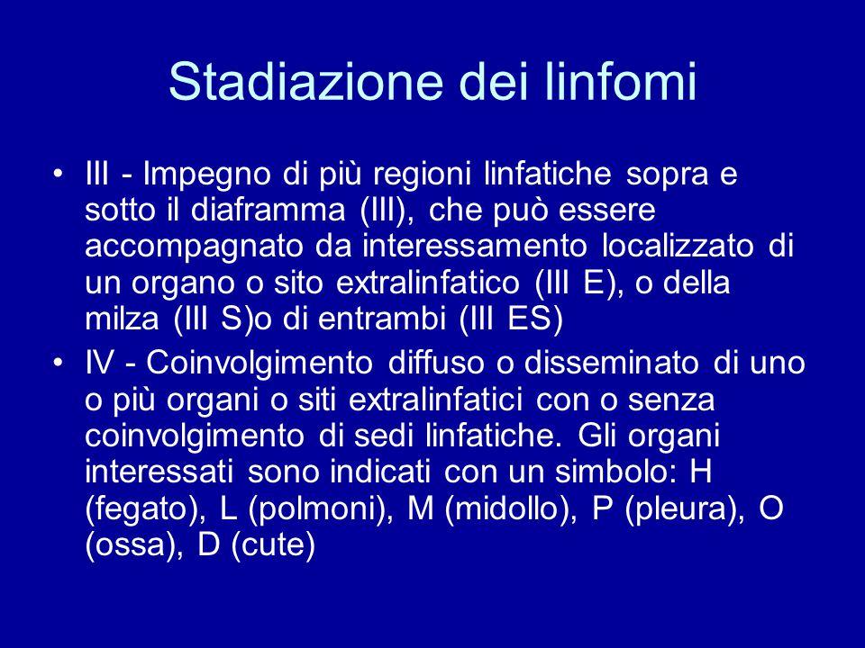 Stadiazione dei linfomi