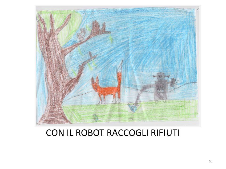 CON IL ROBOT RACCOGLI RIFIUTI