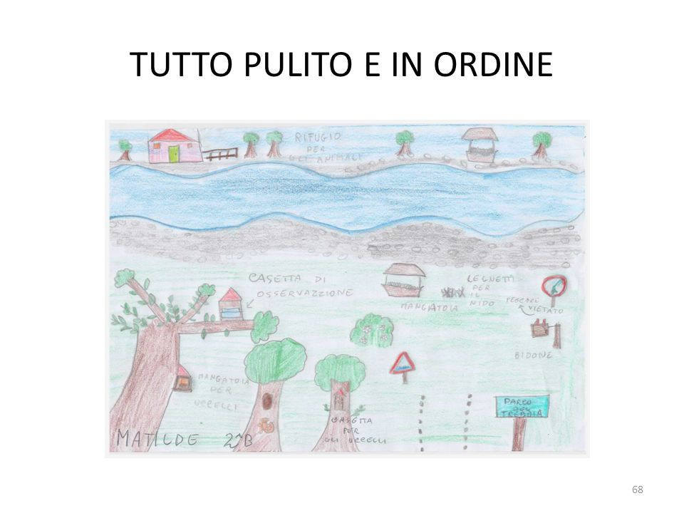 TUTTO PULITO E IN ORDINE