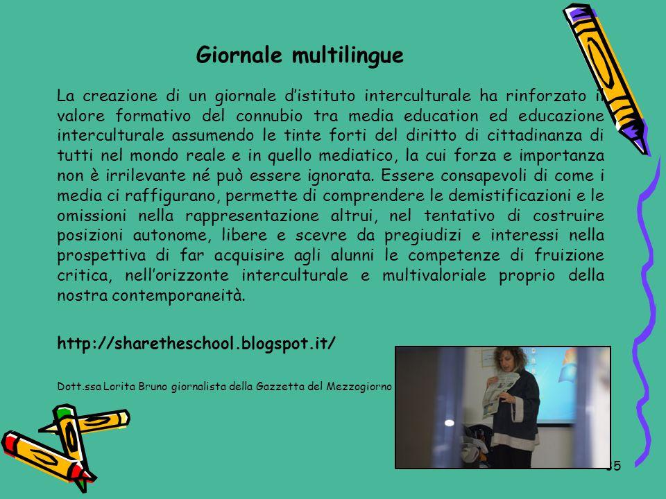 Giornale multilingue