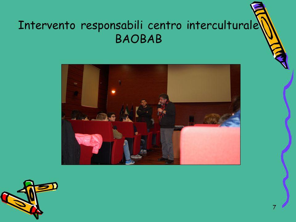 Intervento responsabili centro interculturale BAOBAB