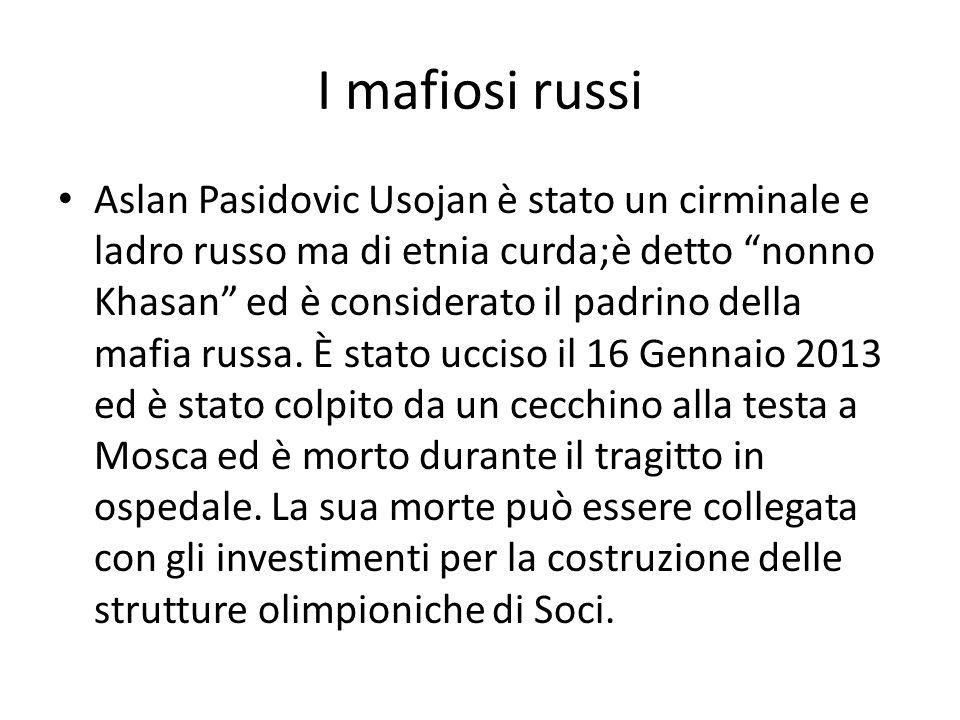 I mafiosi russi
