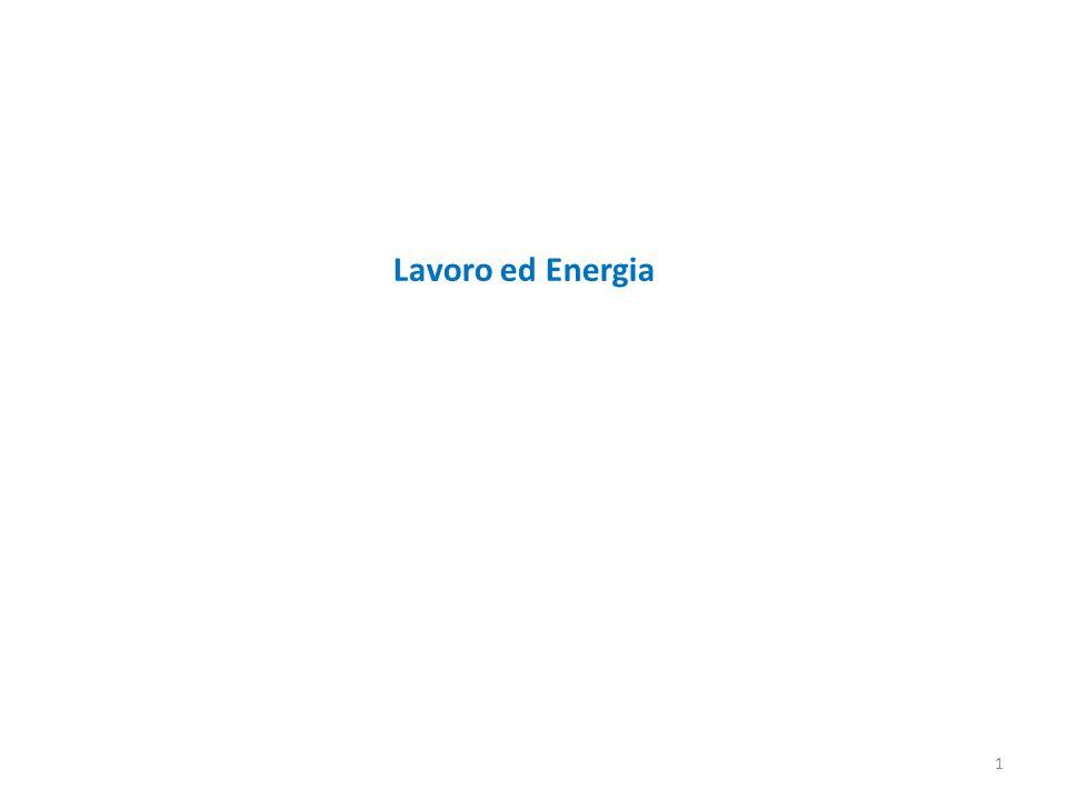 Lavoro ed Energia
