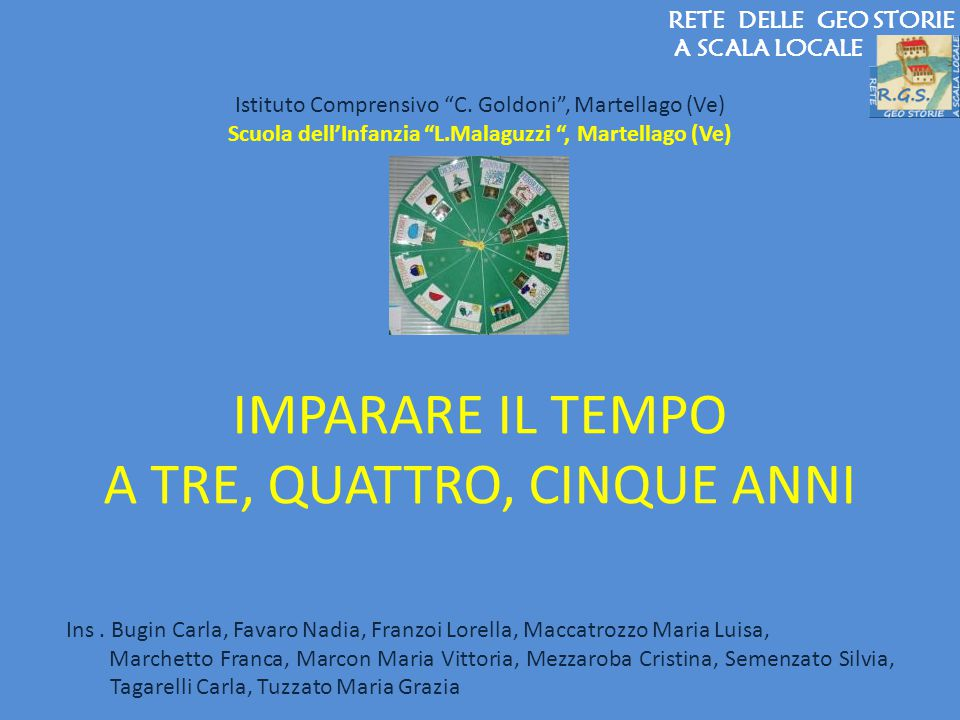 Scuola dell'Infanzia L.Malaguzzi , Martellago (Ve)
