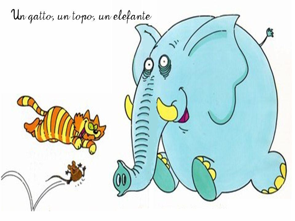 Un gatto, un topo, un elefante