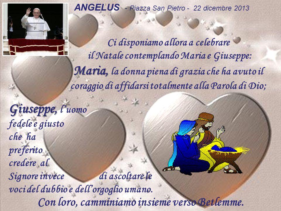 ANGELUS - Piazza San Pietro - 22 dicembre 2013