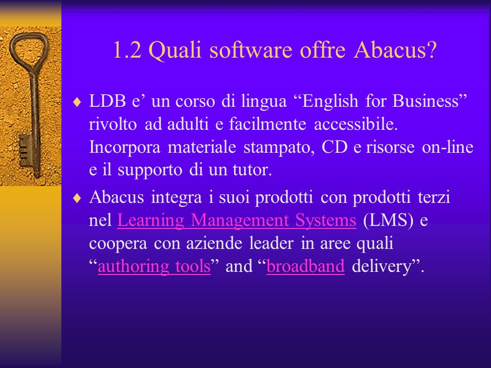 1.2 Quali software offre Abacus