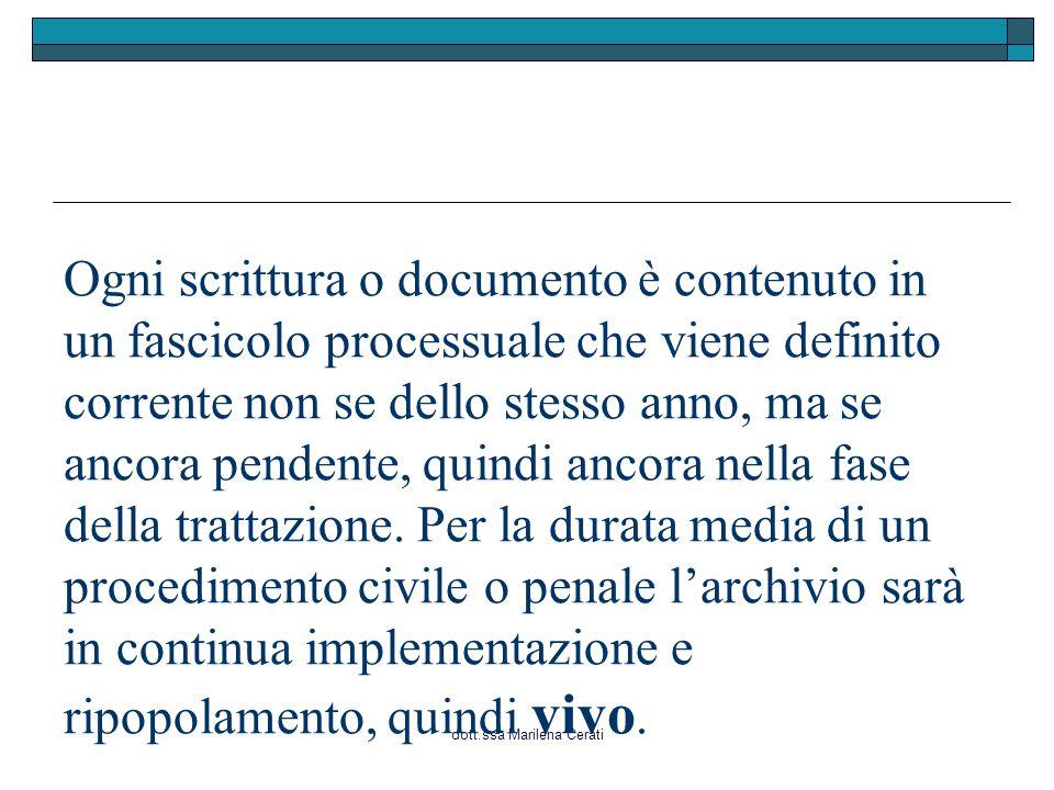 dott.ssa Marilena Cerati