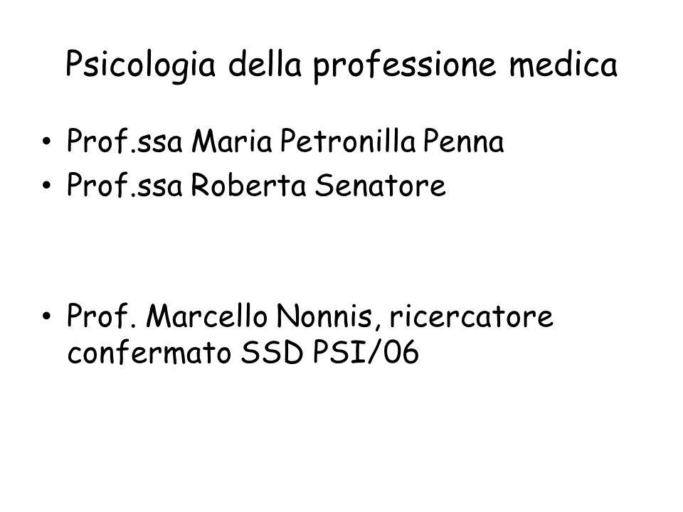 Psicologia della professione medica