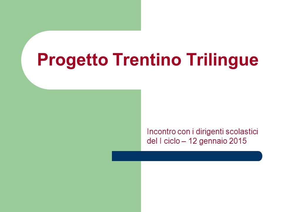 Progetto Trentino Trilingue