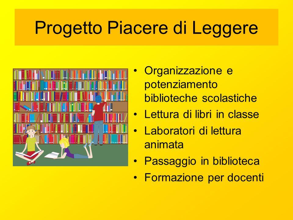 Progetto Piacere di Leggere