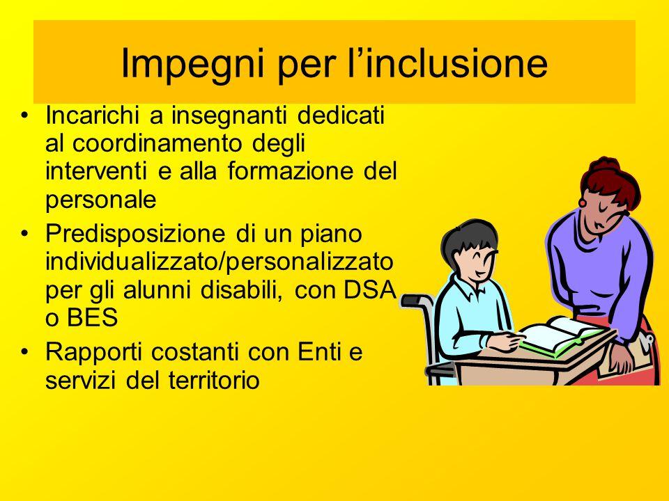Impegni per l'inclusione