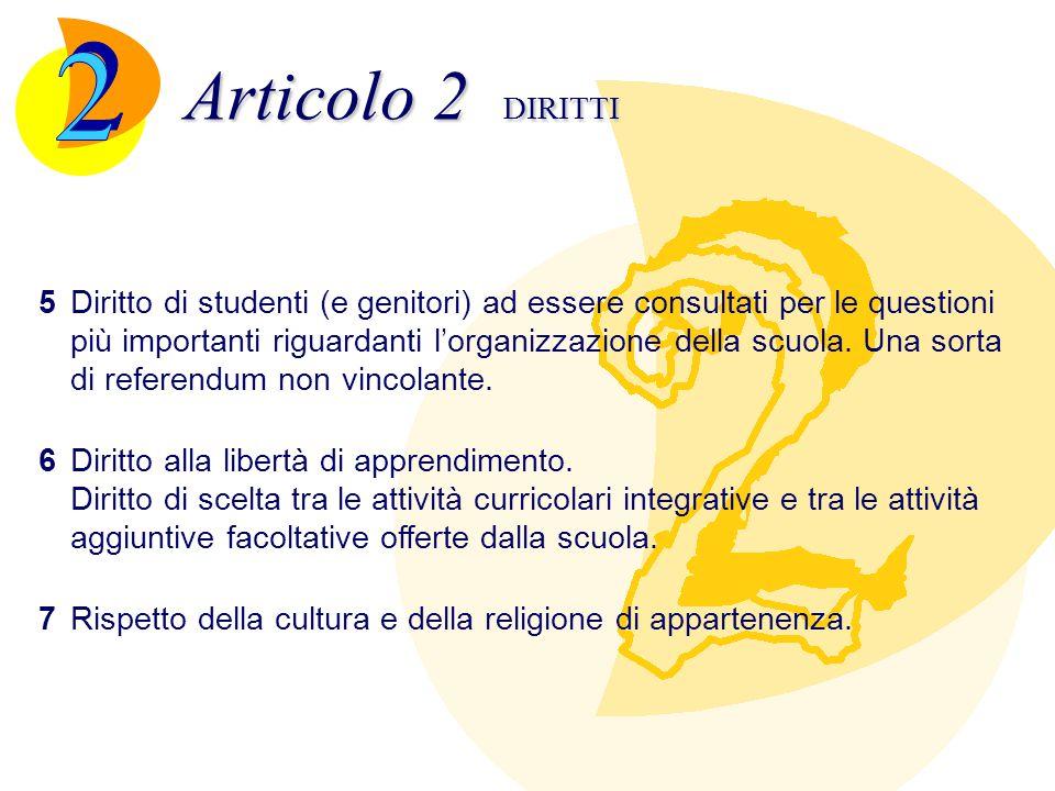 Articolo 2 DIRITTI 2.
