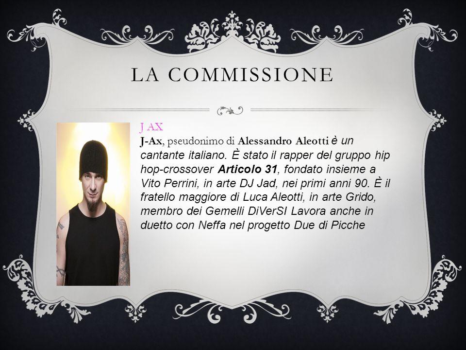 La commissione J AX.