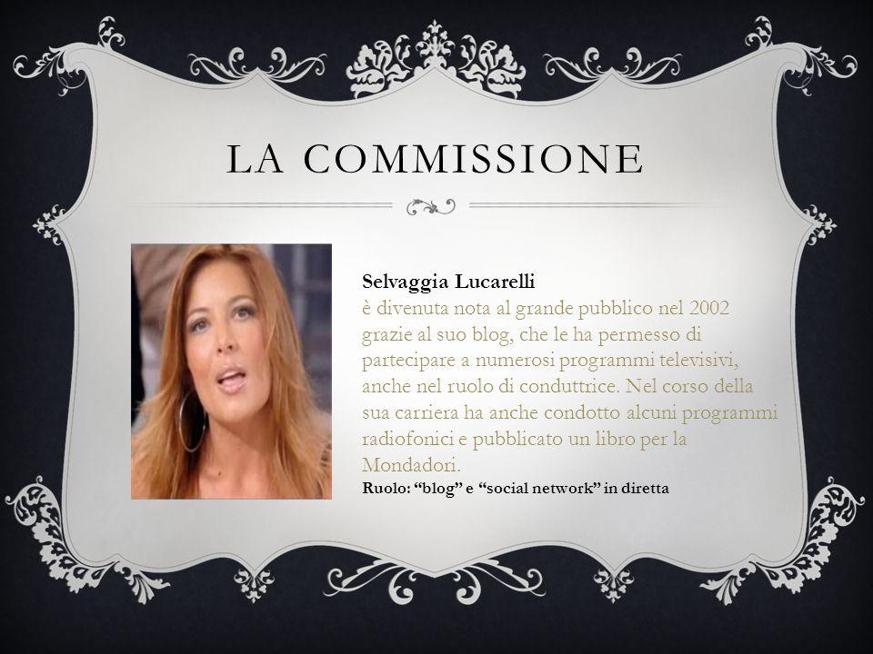 La commissione Selvaggia Lucarelli