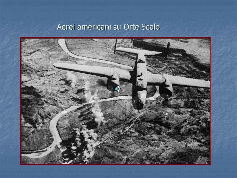 Aerei americani su Orte Scalo