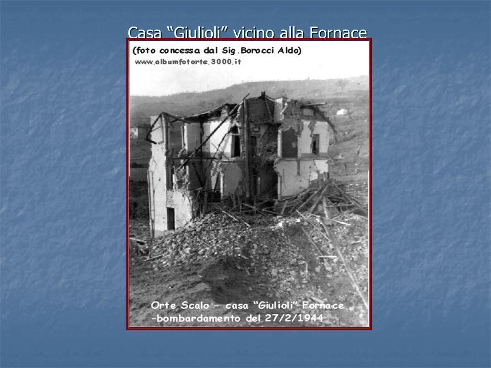 Casa Giulioli vicino alla Fornace