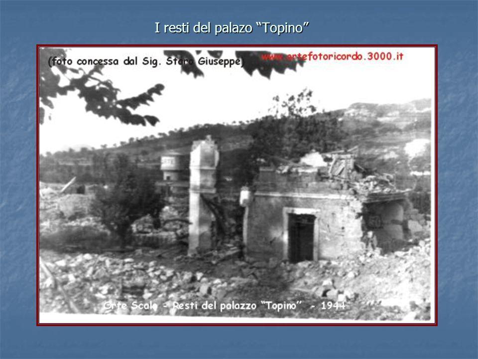 I resti del palazo Topino