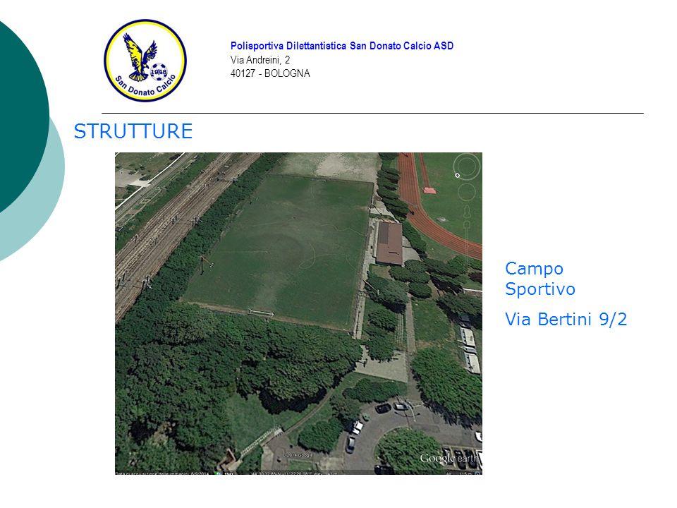 STRUTTURE Campo Sportivo Via Bertini 9/2
