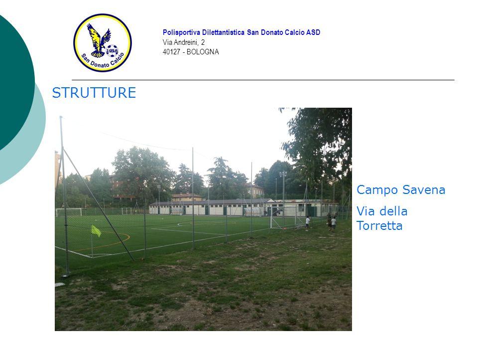 STRUTTURE Campo Savena Via della Torretta