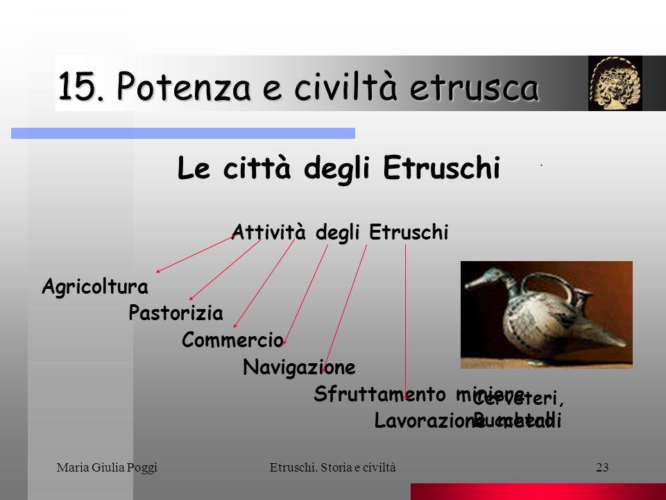 15. Potenza e civiltà etrusca