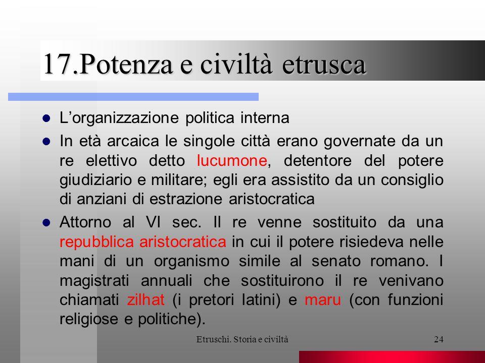 17.Potenza e civiltà etrusca