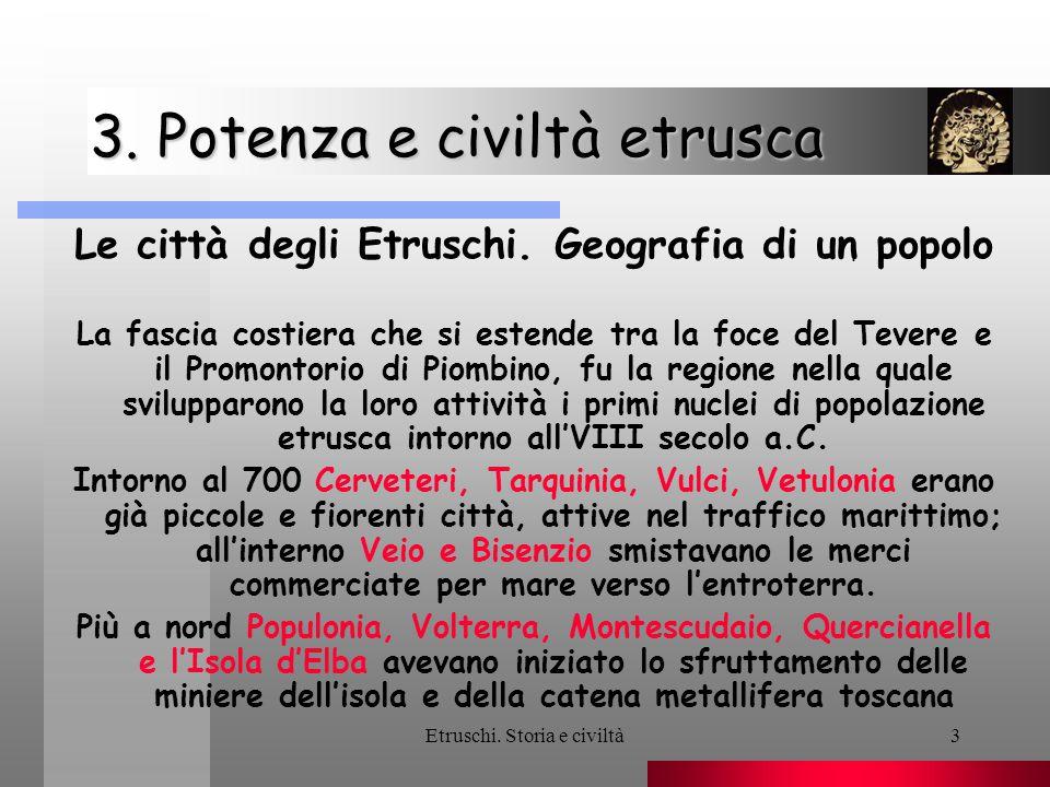 3. Potenza e civiltà etrusca