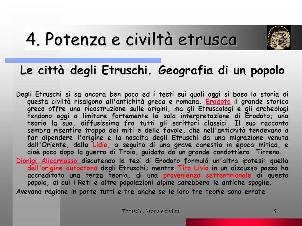 4. Potenza e civiltà etrusca