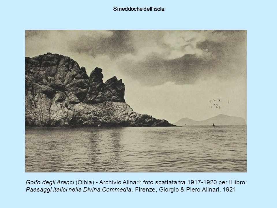 Sineddoche dell'isola