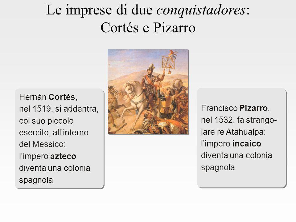 Le imprese di due conquistadores: Cortés e Pizarro