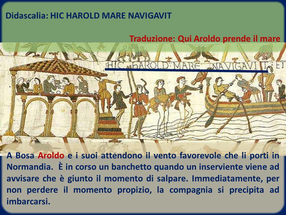 Didascalia: HIC HAROLD MARE NAVIGAVIT