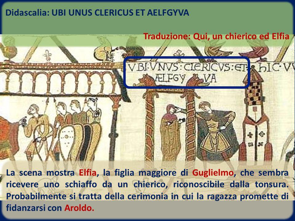 Didascalia: UBI UNUS CLERICUS ET AELFGYVA