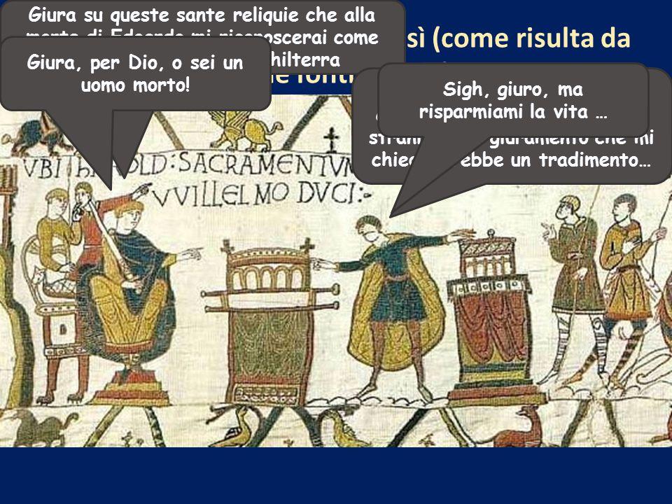Giura su queste sante reliquie che alla morte di Edoardo mi riconoscerai come legittimo sovrano d'Inghilterra