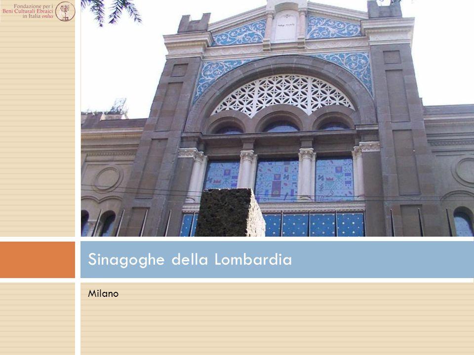 Sinagoghe della Lombardia