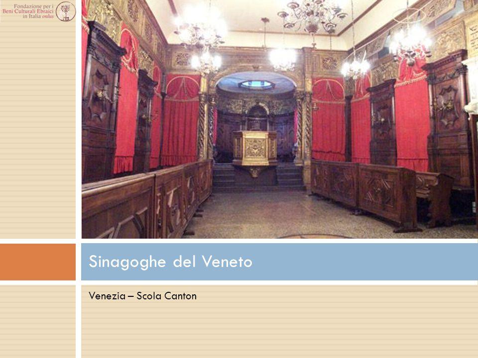 Sinagoghe del Veneto Venezia – Scola Canton