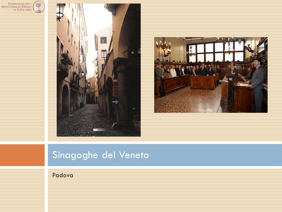 Sinagoghe del Veneto Padova