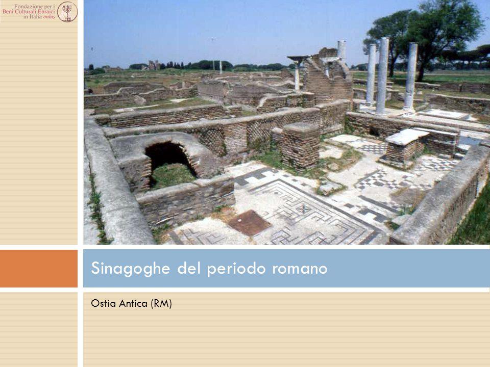 Sinagoghe del periodo romano