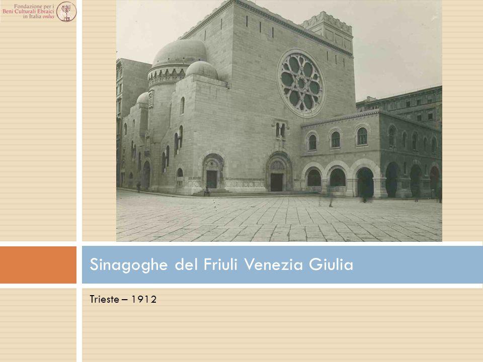 Sinagoghe del Friuli Venezia Giulia