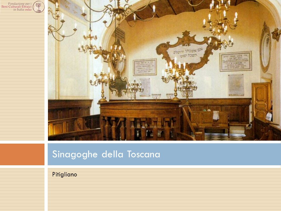 Sinagoghe della Toscana