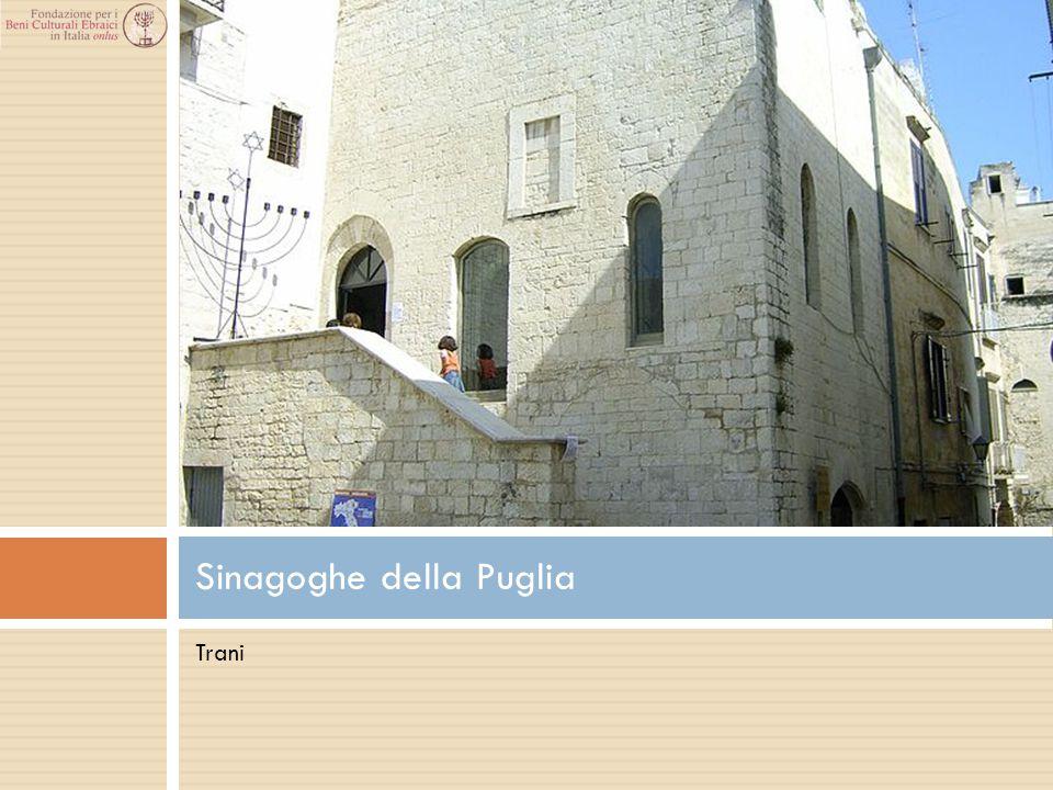 Sinagoghe della Puglia