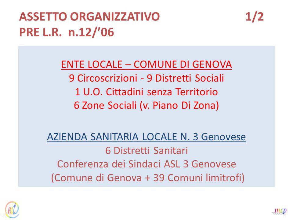 AZIENDA SANITARIA LOCALE N. 3 Genovese