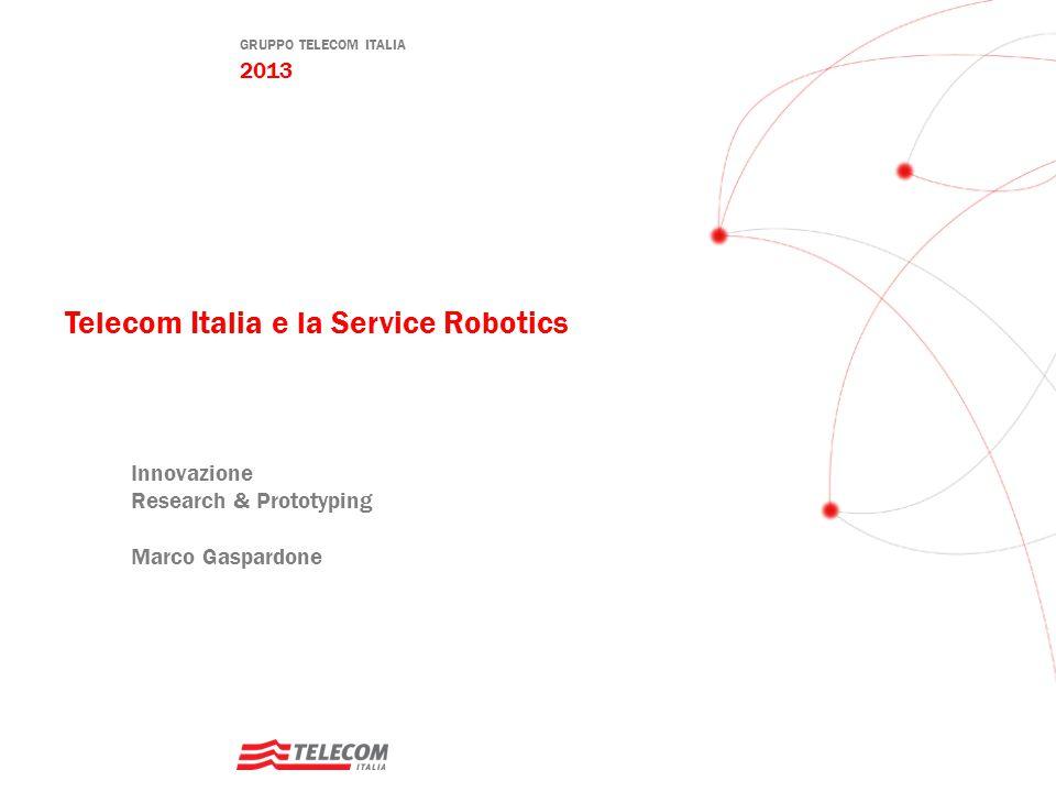 Telecom Italia e la Service Robotics
