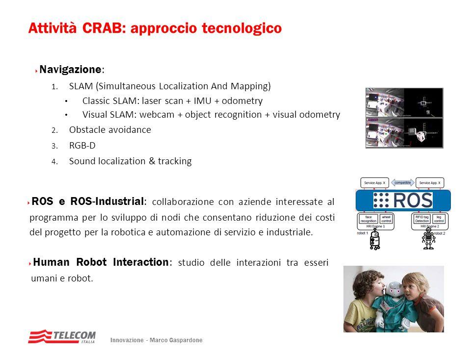 Attività CRAB: approccio tecnologico